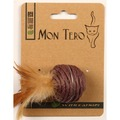 Mon Tero ЭКО Игрушка для кошек Шар с кошачьей мятой фиолетовый