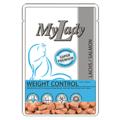 Dr. Alder`s MyLаdy Super Premim Weight Control консервы для кошек Лосось кусочки в соусе