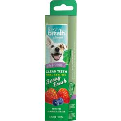 Tropiclean Fresh Breath гель для чистки зубов ягодный для собак