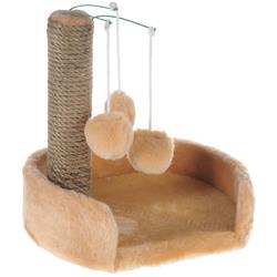 Smartpet Лежанка с когтеточкой для котят