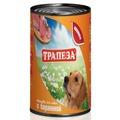 Трапеза Консервы для собак Баранина