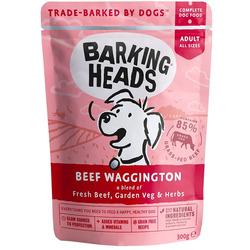 """Barking Heads Паучи для собак с говядиной и бурым рисом """"Вуф-строганов"""""""