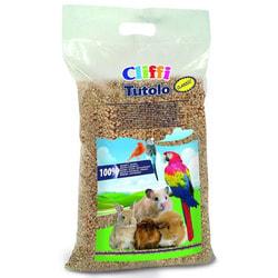 Cliffi Кукурузный наполнитель для грызунов: 100% органик (Tutolo)