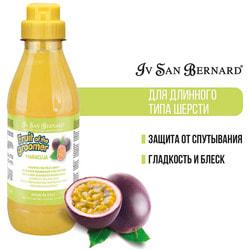 Iv San Bernard Fruit of the grommer Maracuja шампунь для длинной шерсти с протеинами шелка