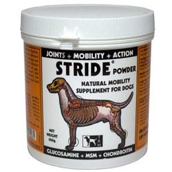 TRM Страйд для собак в порошке - витамины для суставов Глюкозамин+хондроитин+сера