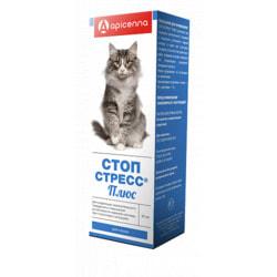 Api-San Стоп-стресс Плюс капли успокоительные для кошек