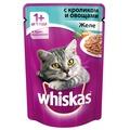 Whiskas Пауч для кошек Желе с Кроликом и овощами