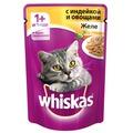 Whiskas Пауч для кошек Желе с Индейкой и овощами