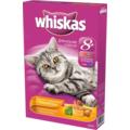 Whiskas Сухой корм для кошек старше 8 лет подушечки/паштет Птица