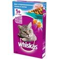 Whiskas Сухой корм для стерилизованных кошек Кролик