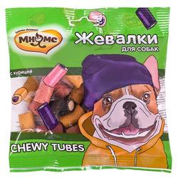 Мнямс Лакомство для собак Жевалки CHEWY TUBES с курицей