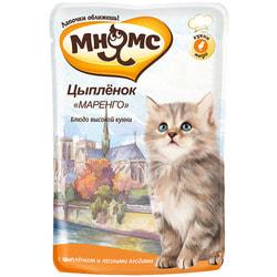 Мнямс Паучи для котят Цыпленок Маренго