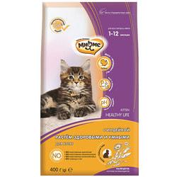 Сухой корм Мнямс Kitten для котят с индейкой