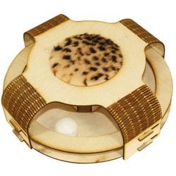 Smartpet Игрушка для кошек Трек Закрытый с мячиком из фанеры