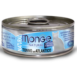 Monge Cat Natural консервы для кошек атлантический тунец