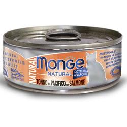 Monge Cat Natural консервы для кошек тунец с лососем