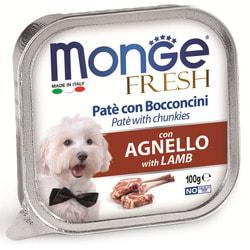 Monge Dog Fresh консервы для собак ягненок