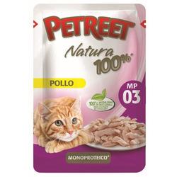 Petreet Пауч для кошек Курица