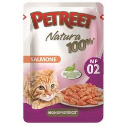 Petreet Пауч для кошек Лосось
