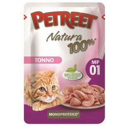 Petreet Пауч для кошек Тунец