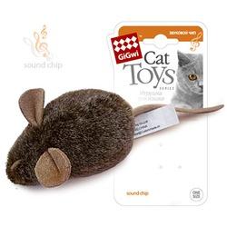 GiGwi Игрушка для кошек Мышка с музыкальным механизмом