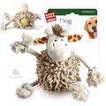 GiGwi Игрушка для собак Жираф с теннисным мячом внутри тела