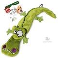 GiGwi Игрушка для собак Крокодил с 4-мя пищалками