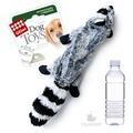 GiGwi Игрушка для собак Шкурка енота с пластиковой бутылкой