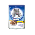 PreVital Сlassic Паучи для кошек с курицей кусочки в соусе