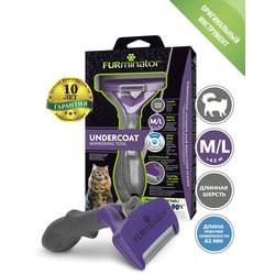 Furminator Фурминатор M/L для больших кошек c длинной шерстью