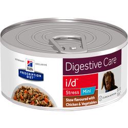HILL'S Prescription Diet Digestive Care i/d Stress Mini Stew flavoured with Chichen + Vegetables диетические консервы для собак мелких пород для лечения заболеваний жкт+стресс в виде рагу курицы с овощами