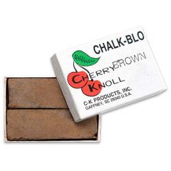 Cherry Knoll Мелок для подкраса шерсти животных, коричневый, 2шт