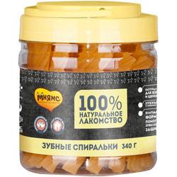 Мнямс Крученые зубные палочки с фруктами для собак
