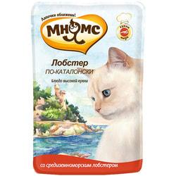 Мнямс Паучи для кошек Блюда Высокой Кухни Лобстер по-каталонски