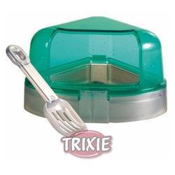 Trixie Угловой туалет с крышкой для хомяка