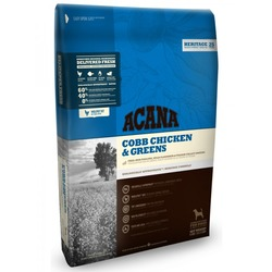 Acana Heritage Cobb Chicken&Greens сухой корм для собак Цыпленок/Зелень