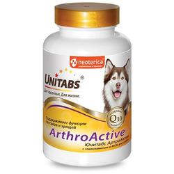 Unitabs ArthroАctive с Q10 для собак при болезнях суставов