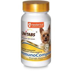 Unitabs ImmunoComplex с Q10 Витамины для собак мелких пород