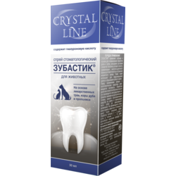 Api-San Зубастик Crystal Line Спрей зоогигиенический стоматологический для собак и кошек