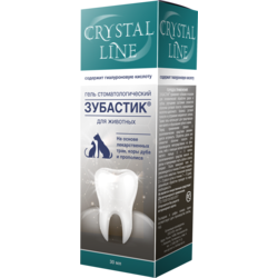Api-San Зубастик Crystal Line Гель зоогигиенический стоматологический для собак и кошек