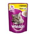 Whiskas Пауч для кошек Крем-суп с Курицей