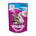 Whiskas Пауч для кошек Крем-суп с Лососем