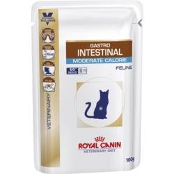 Royal Canin Gastro Intestinal Moderate Calorie пауч для кошек при нарушении пищеварения