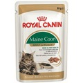 Royal Canin Adult Maine Coon пауч для кошек породы Мэйн Кун кусочки в соусе
