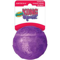 Kong Игрушка для собак Squezz Crackle хрустящий мячик большой