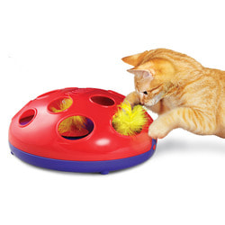 Kong Игрушка трек для кошек Glide 'n Seek на батарейках