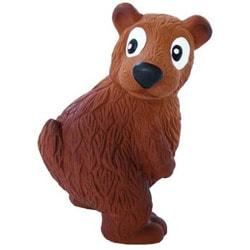 OH Игрушка для собак Tootiez Медведь латекс с пищалкой