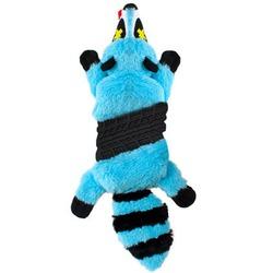 OH Игрушка-шкурка для собак Roadkillz Енот голубой