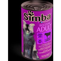 Simba Dog консервы для собак кусочки говядина с овощами
