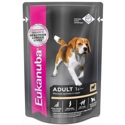 Eukanuba Dog паучи корм для собак с ягненком в соусе
